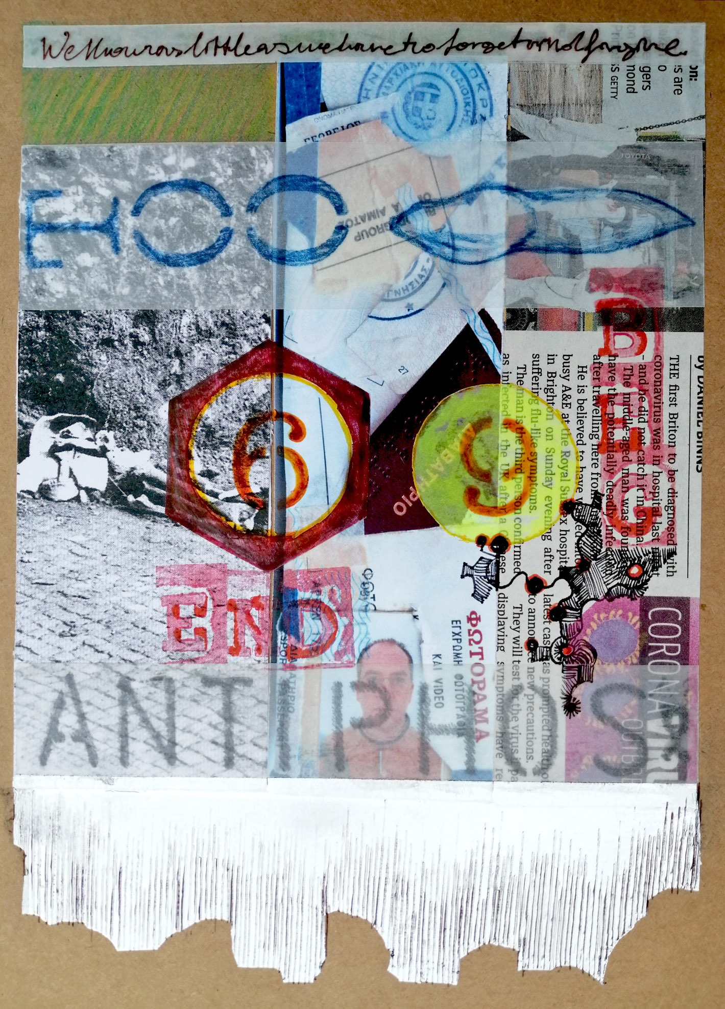 Collage/drawing